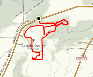 Castalia Quarry Reserve Map
