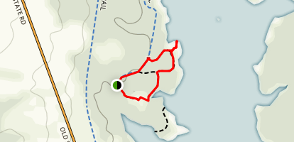 Pike Point Trail Map