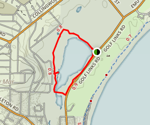 Lake Seppings Trail Map