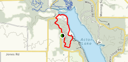 Big Woods Trail Map