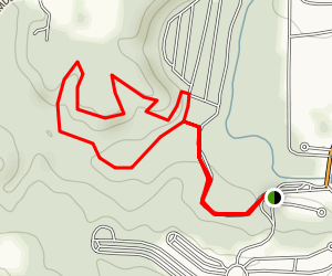 Gallion Run Trail Map