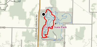 Findley Lake Map