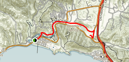 Bob Jones Trail from Avila Beach to Avila Valley Barn Map