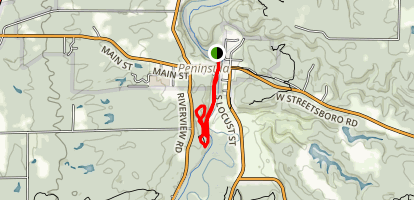 Peninsula and Quarry Trail Map