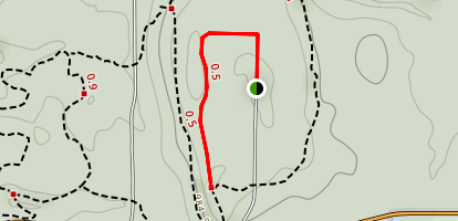 Haskell Run to Ledges Trail Map