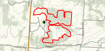 Infirmary Mound Trail Map