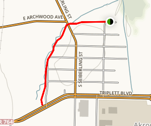 Hailey's Run Trail Map