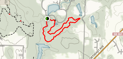 Indian Spring Trail  Map