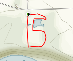 Indian Grass Loop Trail Map