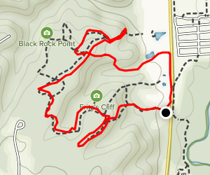 Upper Pond Trail to Wild Turkey Trail Map