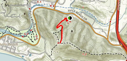 Sycamore Crest Trail Map