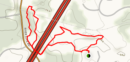 A.I. Root C.C. Trail Map