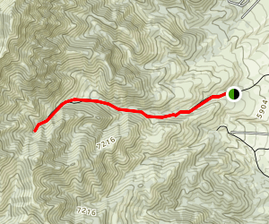 West Canyon Trail Map