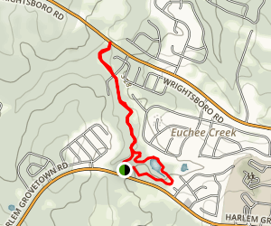 Grovetown Trails at Euchee Creek Map