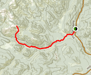Mount Ware Map