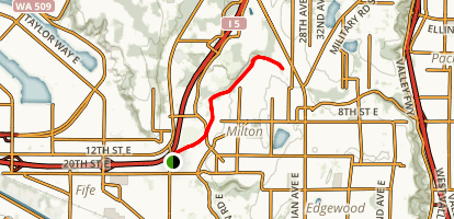 Milton Interurban Trail Map