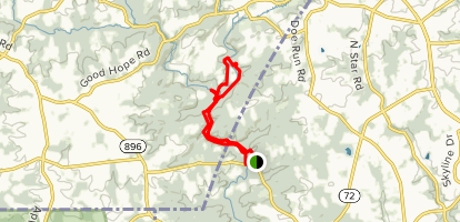 White Clay Creek Trail Map