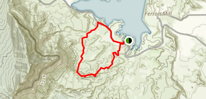 Millsite Plateau Trail Loop Map