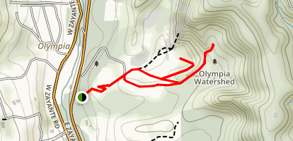 Olympia Watershed Trails Map