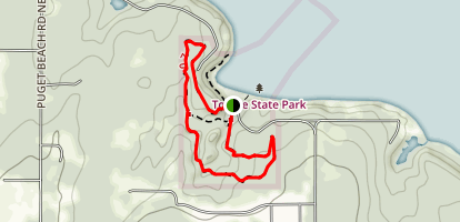 4 Cedars Outler Loop Trail Map