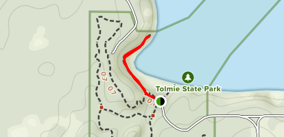 Sandy Beach Trail Map
