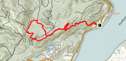 Timp Torne Loop Trail Map