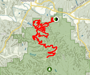 Pine, Green Valley, Hesitation Point, Walnut, Lime Kiln, Aynes, North Tower Map