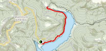 Ozark Highlands Trail: Western Terminus to Frog Bayou Map
