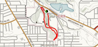 Iron Springs Loop Trail Map