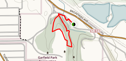 Meadow Trail and Cattail Loop Trail Map