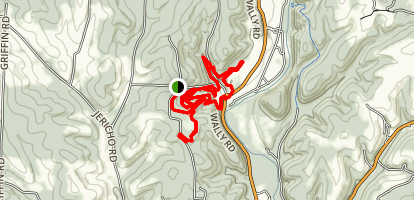Mohican Mountain Bike Trails Map