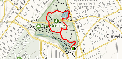 Forest Hill Park Loop Map