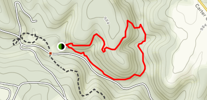 Horn Hollow Trail Map