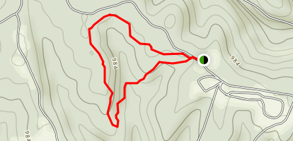 Kiser Hollow Trail Map