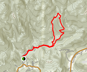 Knobby Rock Trail Map
