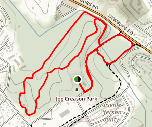 Joe Creason Park (Beargrass Creek Nature Preserve)  Map