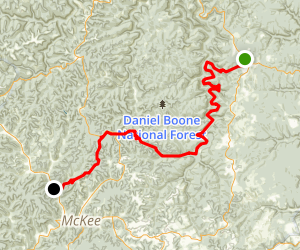 Sheltowee Trace Map