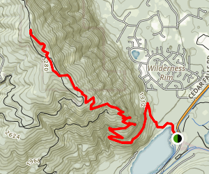 Rattlesnake Ledges and Rattlesnake Mountain Trail Map