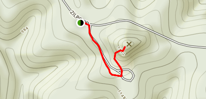 Tater K Fire Tower Map