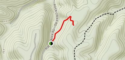 Koger Arch Trail Map