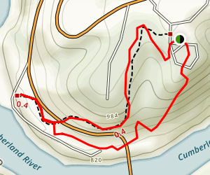 Dupont Lodge Trail 4 and 6 Map