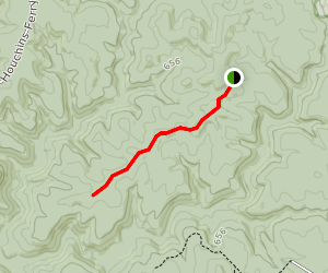 Collie Ridge Trail Map