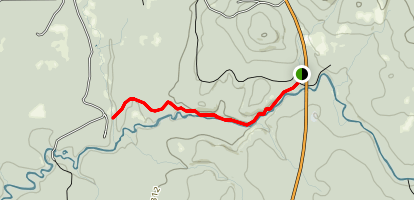 Canyon Gorge Trail Map