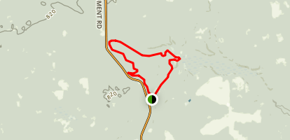Silver Valley Loop Trail Map