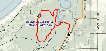 Platte Plains Loop Trail Map