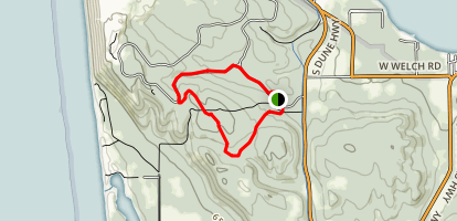 Shauger Hill Hiking Trail Map
