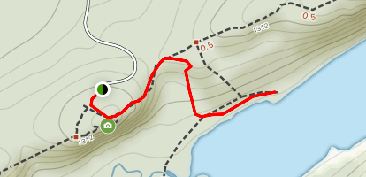 Lake of The Clouds Cabin Hike Map