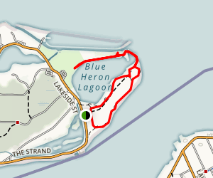 Belle Isle Lighthouse and Blue Heron Lagoon Map
