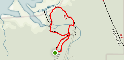 Sedge Meadow Trail Map