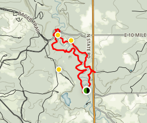Silver Creek Pathway Map